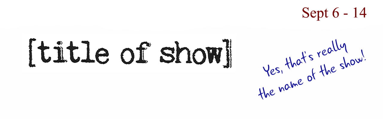 Title Of Show